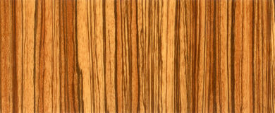 zabrano древесины текстуры hq Стоковая Фотография RF