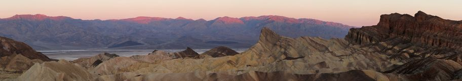 Zabriski point Stock Photography