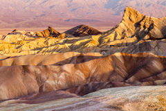 Zabriski Point. At sunrise in Death Valley National Park, California royalty free stock image