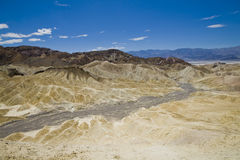 Zabriskie Point. Death Valley National Park, USA, California Stock Photo