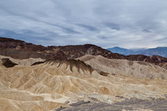 Zabriskie Point. Stock Images