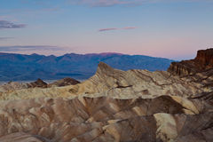 Zabriskie Point. Royalty Free Stock Photography