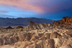 Zabriskie Point. Royalty Free Stock Image