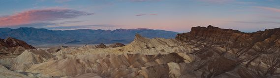 Zabriskie Point. Stock Photo