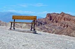 Zabriskie Point. Death Valley, California stock photo
