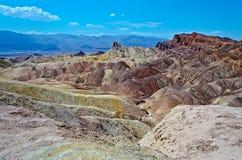 Zabriskie Point. Death Valley, California stock photography