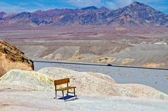 Zabriskie Point. Death Valley, California stock images