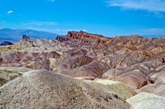Zabriskie Point. Death Valley, California royalty free stock image