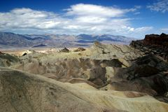 Zabriskie Point. Death Valley National Park Stock Images
