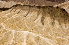 Zabriskie Point badlands Stock Images