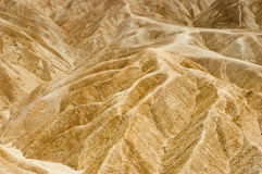 Zabriskie Point badlands Royalty Free Stock Image