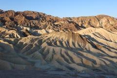 Zabriskie Point. Badlands Death Valley. California Stock Photo