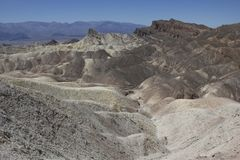 Zabriskie Point, California Stock Photos