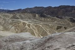 Zabriskie Point, California Royalty Free Stock Image