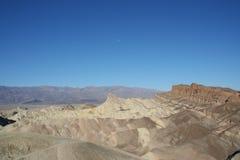 Zabriskie Point Death Valley Royalty Free Stock Photography