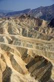 Zabriskie Point, Death Valley. Zabriskie Point in California's Death Valley National Park Stock Photos