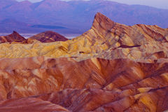 Zabriskie Point Death Valley Royalty Free Stock Images