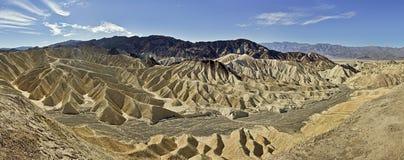 Zabriskie Point - Death Valley Stock Photo
