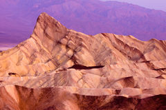 Zabriskie Point Death Valley Royalty Free Stock Photos