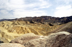 Zabriskie Point, Death Valley Stock Images