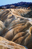 Zabriskie Point, Death Valley Stock Photography