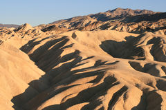 Zabriskie Point, Death Valley, California Royalty Free Stock Photos