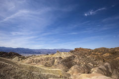 Zabriskie point, death valley, california Stock Photos