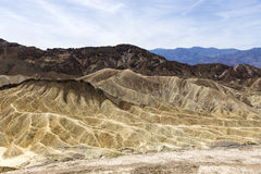 Zabriskie point, death valley, california, usa Stock Photography