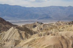 Zabriskie Point, Death Valley, California, USA Royalty Free Stock Photography