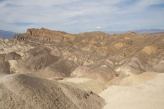 Zabriskie Point, Death Valley, California, USA Royalty Free Stock Image
