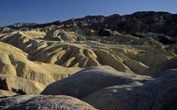 Zabriskie Point. Death Valley, California, USA Stock Photo