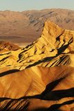 Zabriskie point at Death Valley Stock Image