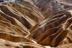 Zabriskie Point Death Valley National Park Stock Photography