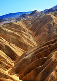 Zabriskie Point Death Valley National Park Royalty Free Stock Photo