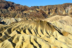 Zabriskie Point, Death Valley National Park, Calif Royalty Free Stock Photography