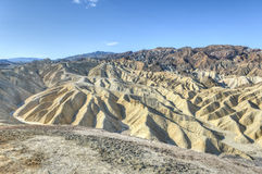 Zabriskie Point in Death Valley National Park, California Stock Photos