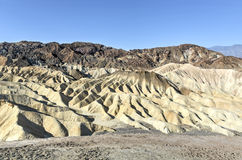 Zabriskie Point in Death Valley National Park, California Royalty Free Stock Images