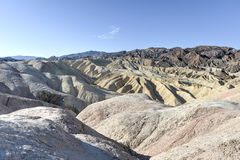 Zabriskie Point in Death Valley National Park, California Stock Photography
