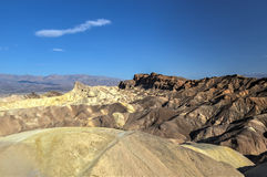Zabriskie Point in Death Valley National Park, California Stock Image