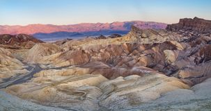 Zabriskie Point in Death Valley National Park in California, USA Stock Photo