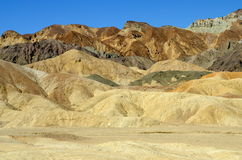 Zabriskie Point, Death Valley National Park, California. USA Stock Photo