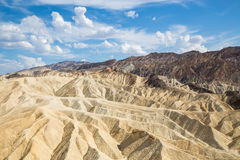 Zabriskie Point in Death Valley National Park, California, USA Royalty Free Stock Photography