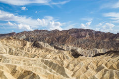 Zabriskie Point in Death Valley National Park, California, USA Stock Photo