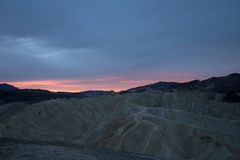Zabriskie Point, Death Valley National Park, California, USA Stock Photography