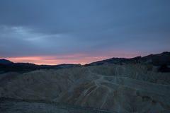 Zabriskie Point, Death Valley National Park, California, USA Stock Photography