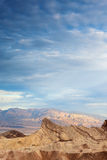 Zabriskie Point in Death Valley National Park in California, USA Royalty Free Stock Images