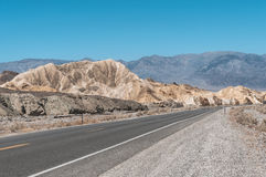 Zabriskie Point, Death Valley National Park, California stock image