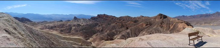 Zabriskie Point, Death Valley National Park royalty free stock image
