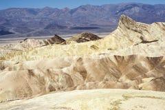 Zabriskie Point - Death Valley National Park Royalty Free Stock Photos