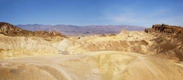Zabriskie Point, Death Valley National Park Stock Photo